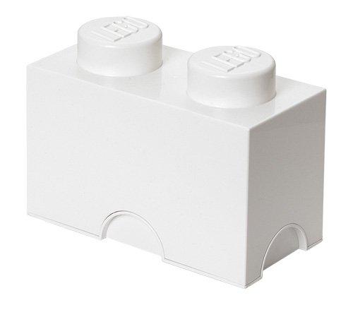 Lego - 40021735 - Jeu De Construction - Brique Range Empilable - Blanc - 2 Plots