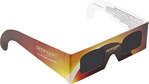 Solar Eclipse Glasses   Omegon Sunsafe Ce And Iso Certified Viewers For The Total Solar Eclipse Or Great American Eclipse 2017