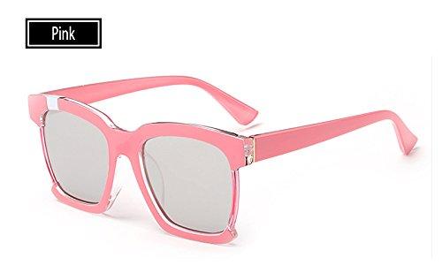 Guía para de Marca Ojo de Marrón Gafas Mujer Sunglasses pink TL Mujeres Sol de Moda de Vintage Gato Gafas qvIFZ