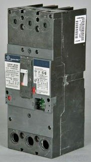 GE SFHA36AT0250 Bolt-On Mount Type SFH Molded Case Circuit Breaker 3-Pole 250 Amp 600 Volt AC Spectra RMSTM