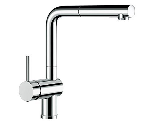 Blanco Linus-S Vario Kitchen Tap Metallic Surface Chrome ...