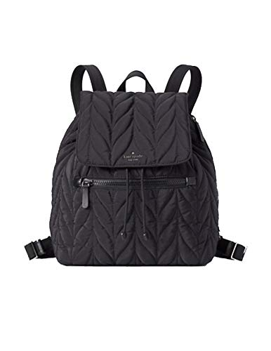 Kate Spade Ellie Large Black Nylon Backpack
