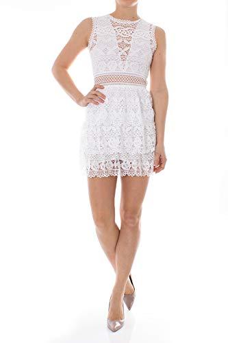 Para Mujer Bianco Dress Vestido Guess Gen 4xZUqqS