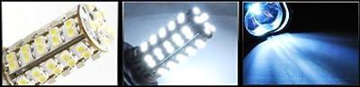 cutequeen 9005 LED Bulbs 68-SMD WHITE Super Bright DRL Fog Lights (A Pair)