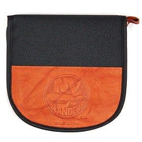 - New York Islanders Leather/Nylon Embossed Cd Case