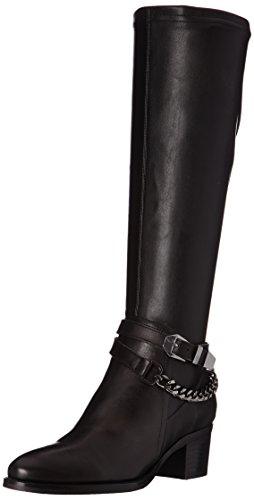 St Garnet V T Botas Mujer Jb Noir Noir Negro Velvet MartinEsters xqz8FXw50