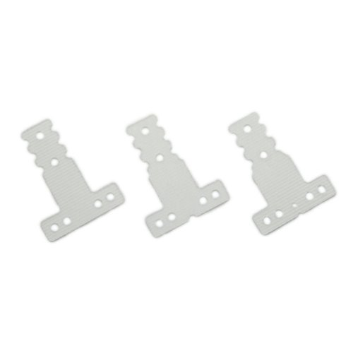 FRP rear suspension plate set (MM / LM for / MR-03) MZW409 (japan import)