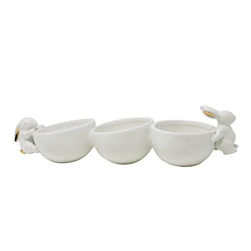 Sagebrook Home 13016-03 Dolomite Decorative Bowl, 14