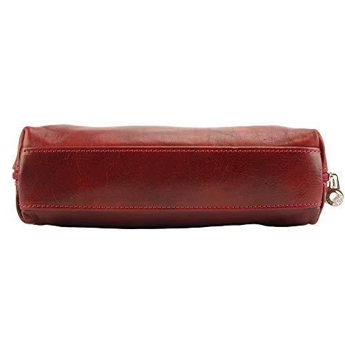 A Borsa Manico Con Leather Florence Market Spalla Doppio Rosso 6886 qZgxt