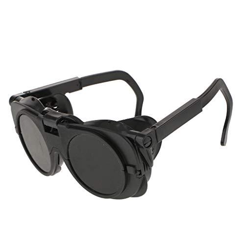 安全メガネ 二重保護 保護メガネ 溶接機 切断 溶接ゴーグル 快適