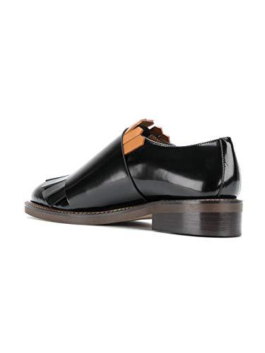 Negro Correa Mujer Almsz04g03lv531zi950 Con Monk Cuero Marni Zapatos wnOp4WqxEE