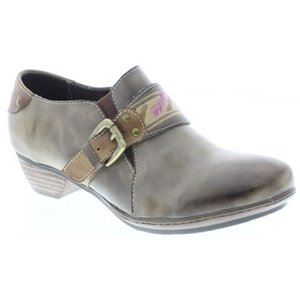 Spring Step Lynette Women's Taupe Leather Loafer 37 M EU
