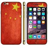Chinese Flag Pattern Mobile Phone Decal Stickers for iPhone 6 Plus
