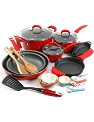 (The Pioneer Woman Vintage Speckle 24-Piece Cookware Combo Set)