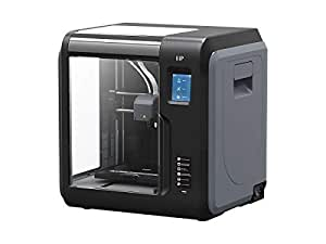 Monoprice Voxel 3D Printer - Black/Gray with Removable Heated Build Plate  (150 x 150 x 150 mm) Fully Enclosed, Touch Screen, 8Gb and Wi-Fi
