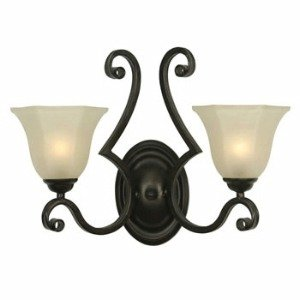 - Dolan Designs 779-34 Winston - Two Light Wall Sconce, Olde World Iron