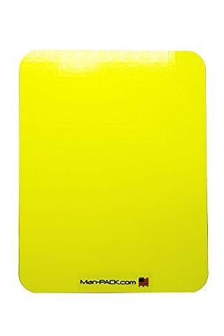 Man-PACK Bulletproof Backpack Insert (Yellow) - Nij Ballistic Levels