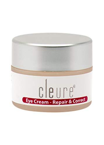 Cleure Hypoallergenic Eye Cream for Sensitive Skin | Formaldehyde - Fragrance - Gluten - Salicylate - Paraben - Phthalate Free | Anti-aging & Restoring Formula | 0.5 Oz