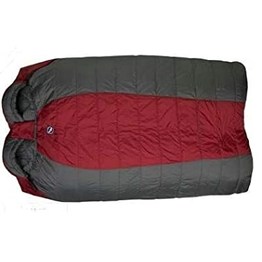 Big Agnes Cabin Creek 15-DegreeSleeping Bags (SL 90 synthetic), 40-Inch Wide