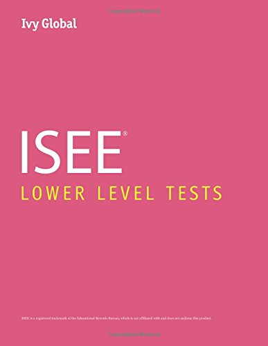 Ivy Global ISEE Lower Level Tests