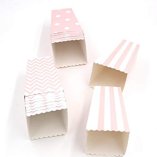 Flamingo Bonut Popcorn Cups 12PCS/Lot Popcorn Box/Cup Pink