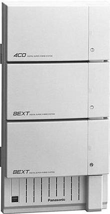 - Panasonic KX-TD1232-3 Digital Super Hybrid System