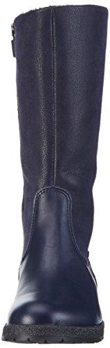 Richter Kinderschuhe Mädchen Iris Langschaft Stiefel Blau (atlantic 7200)