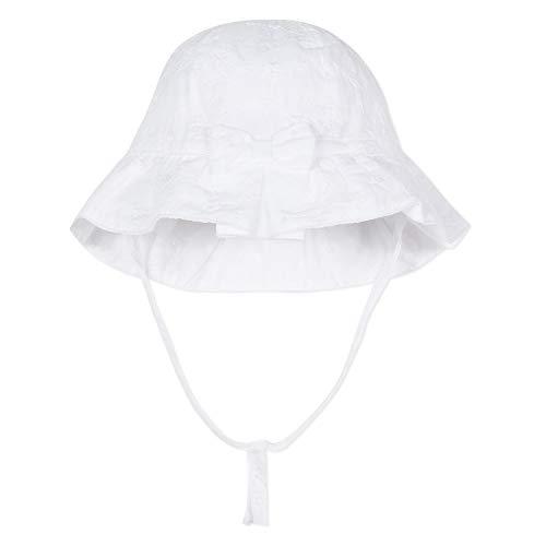 01 Blanco Hat Baby Girl's Absorba blanco xn0TYX