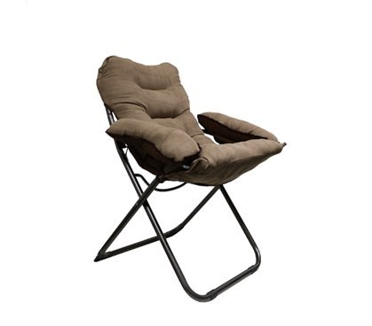 College Club Dorm Chair - Plush & Extra Tall - Brown