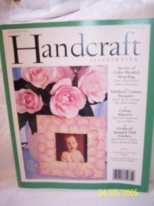 Handcraft Illustrated: Secrets of Color-Blended Stenciling; Fabulous Cosmos Bouquest; COttage Slipcover; Foolproof Sponged Wall Finishes (Number 8, August 1995)