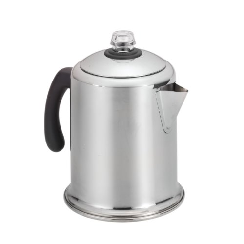 Farberware Classic Stainless Steel Yosemite 8-Cup Coffee (Old Stove)