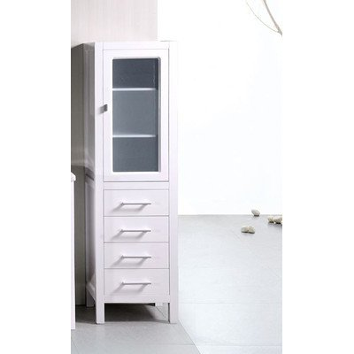 Design Element CAB004-W London 65-in. Linen Cabinet by Design Element