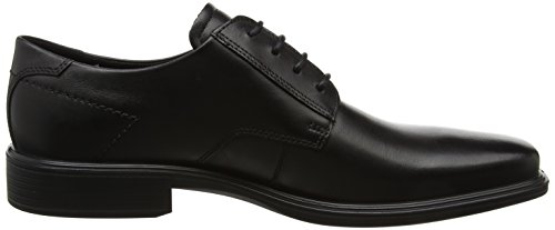 de para Minneapolis Derby Black Cordones Negro Zapatos Hombre Ecco E4Xqfq