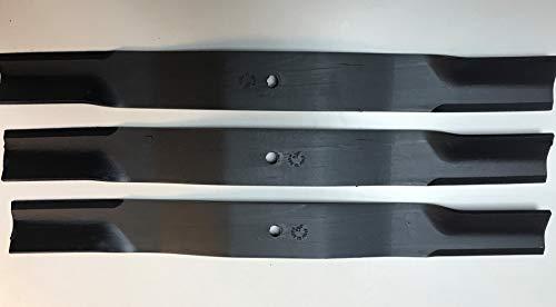 Juego de 3 cuchillas de repuesto para Bush Hog 72