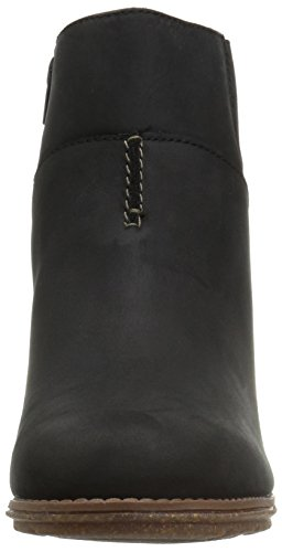 Boot Black Leather Women's Ankle Clarks Vita Sashlin xqw81pPZI