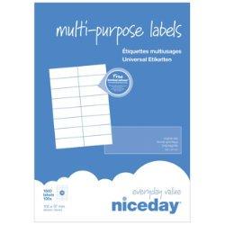 Niceday Etiqueta 210 X 297 Mm Caja 100 Etiquetas