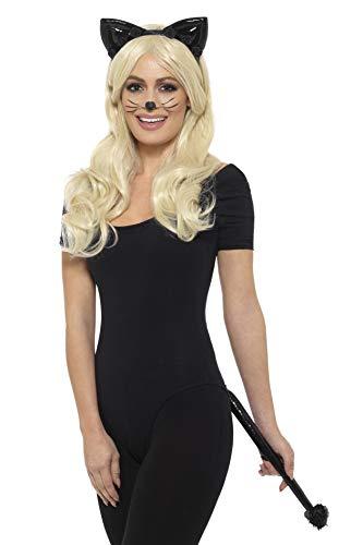 Smiffy's Halloween Deluxe Wet Look Cat Instant Kit]()