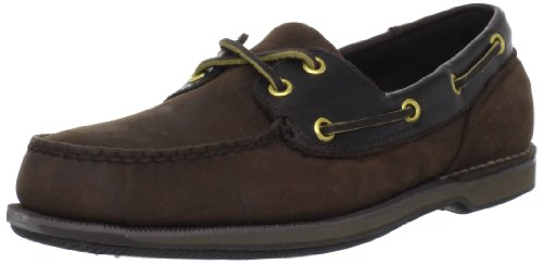 (Rockport Men's Ports of Call Perth Slip-On,Chocolate,14 M US)