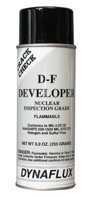 Visible Dye Penetrant System - Visible Dye Penetrant Systems, Developer, Nuclear, Aerosol Can, 16 oz (24 Pack)