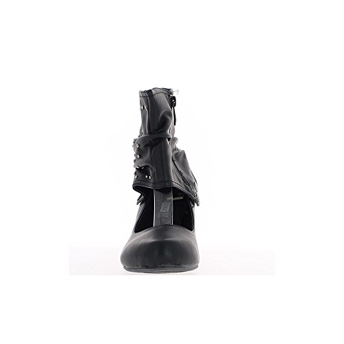Talon 5 5cm De Escarpins Noirs Montants nB1EYY