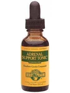 Herb Pharm surrénale soutien Tonic, 4 once