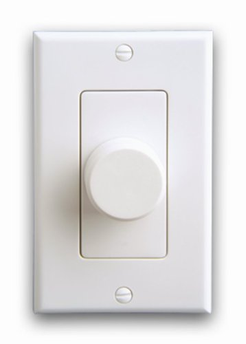 (On-Q AU0100-WHLA-V1 Impedance Matching Speaker Volume Control, White/Lt Almond)