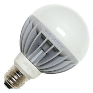 Osram Sylvania 78419 Led Globe Lamp, G25, 7 Watts, 2700K, 85 Cri, Medium Base, 120 Volts, Dimmable, Frosted, 6 Per Case