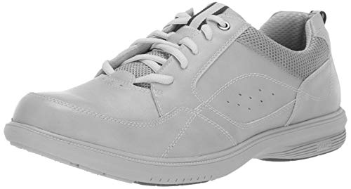 Oxford Bone - Nunn Bush Men's KORE Walk Moccasin Toe Lace Up Oxford Shoe, Bone, 9 Wide