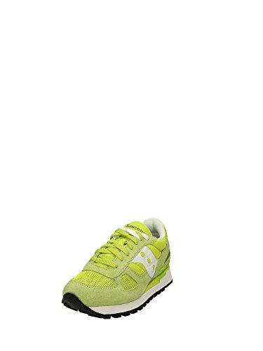 Saucony - Zapatillas para hombre Giallo Lime/bianco