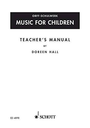 Orff-Schulwerk in Canada: Teacher's Manual