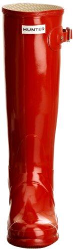 Goma Tall Box Original Lluvia Pillar Gloss Invierno De Hunter Rojo Botas Botas Mujer Red 7zwqHWExgn