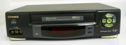 Fisher FVH-T668S HiFi Stereo Video Cassette Recorder Player VCR VHS Tape Play Back DA4 Head HiFi VCR Plus