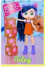 GRAYERA HOT DOLL BOXY GIRLS RILEY READY FOR PLAY WITH 12 FASHION SURPRISES SG/_B07G2QP5VR/_US
