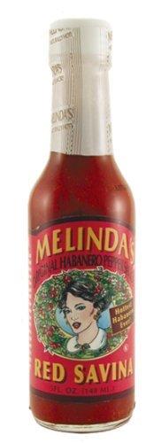 Red Savina Habanero Sauce - Melindas Jalapeno